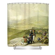 Jacobs Well At Shechem  Shower Curtain