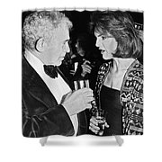 Jacqueline Kennedy Onassis Shower Curtain