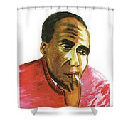 Jacques Roumain Shower Curtain
