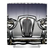 Jag Convertible Shower Curtain