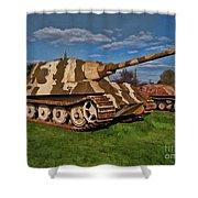 Jagdtiger Sd. Kfz Shower Curtain