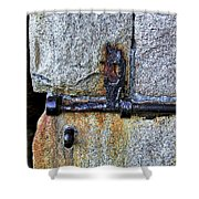 Jail Bolt Shower Curtain