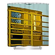 Jail Cell Shower Curtain