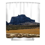 Jailhouse Rock And Courthouse Rock Shower Curtain