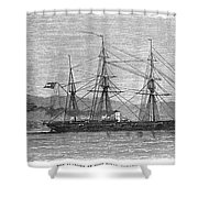 Jamaica: Css Alabama, 1863 Shower Curtain