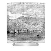 Jamaica: Kingston, 1865 Shower Curtain by Granger