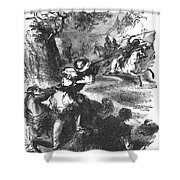 James Bowie (1796-1836) Shower Curtain