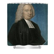 James Bradley, English Astronomer Shower Curtain