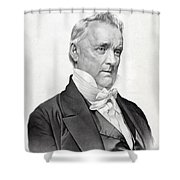 James Buchanan Shower Curtain