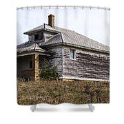 James Center Township School Shower Curtain