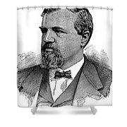 James Clair Flood (1826-1889) Shower Curtain
