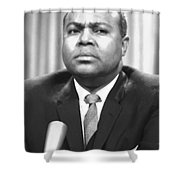 James Farmer (1920-1999) Shower Curtain