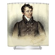 James Fenimore Cooper Shower Curtain