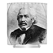 James Mccune Smith Shower Curtain