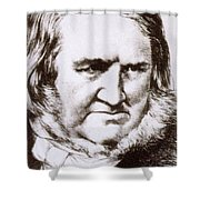 James Young Simpson, Scottish Physician Shower Curtain by Science Source