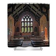 Jamestown Church Interior Shower Curtain
