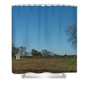 Jamestown Windmill Shower Curtain