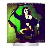 Jane Joker 2 Shower Curtain