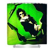 Jane Joker 3-2 Shower Curtain