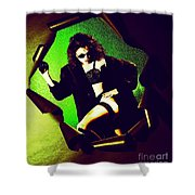 Jane Joker 3 Shower Curtain