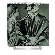 Jane Pierce Shower Curtain by Photo Researchers