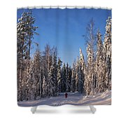 January Nr 3 Shower Curtain