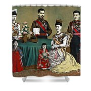 Japan: Imperial Family Shower Curtain