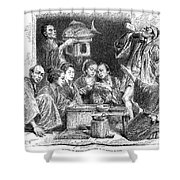 Japan: Sake, 1869 Shower Curtain