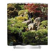 Japanese Tea Gardens San Francisco Shower Curtain