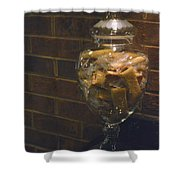 Jar Of Biscotti Shower Curtain by Sandi OReilly
