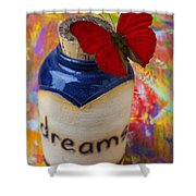 Jar Of Dreams Shower Curtain