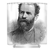 Jay Gould (1836-1892) Shower Curtain