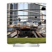 Jay Pritzker Pavillion - 1 Shower Curtain