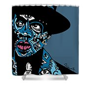 Jay Z  Full Color Shower Curtain