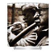 Jazz Legends Al Hirt And Pete Fountain Shower Curtain