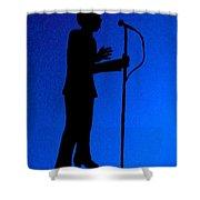 Jazz Singer Shower Curtain