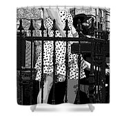 Jazzy Pink Shoes Shower Curtain