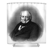 Jean-baptiste Biot, French Polymath Shower Curtain