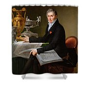 Jean-baptiste-claude Odiot Shower Curtain