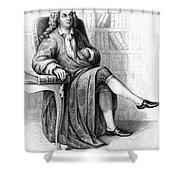 Jean Baptiste Rousseau Shower Curtain