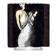 Jean Harlow 2 Shower Curtain