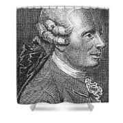 Jean Le Rond Dalembert, French Polymath Shower Curtain
