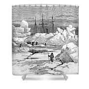 Jeannette Expedition Shower Curtain