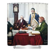 Jefferson & Dupont, 1801 Shower Curtain by Granger