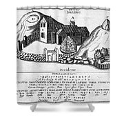 Jelling Monuments, C960 Shower Curtain