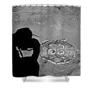 Jelly Capture Shower Curtain