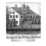 Jemima Wilkinson Shower Curtain