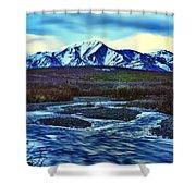 Jenny Creek Dawn Shower Curtain