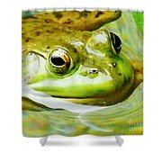 Jeremiah Shower Curtain