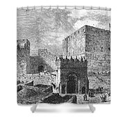 Jerusalem: Citadel Shower Curtain